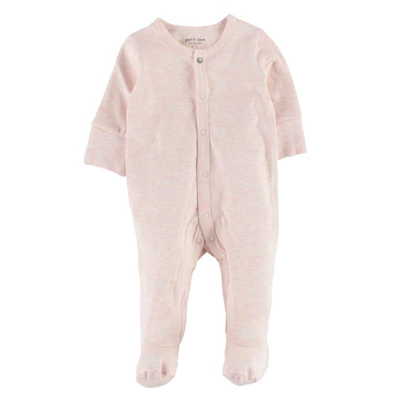 Essentials Pink Pajamas 0-24m