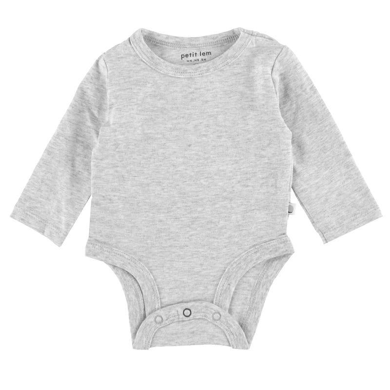 Essentials Bodysuit 0-9m - Grey