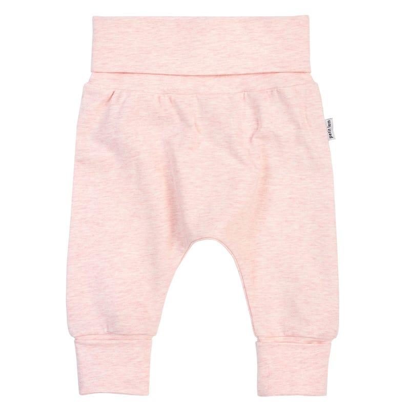 Pantalon Évolutif Rose 0-24mois