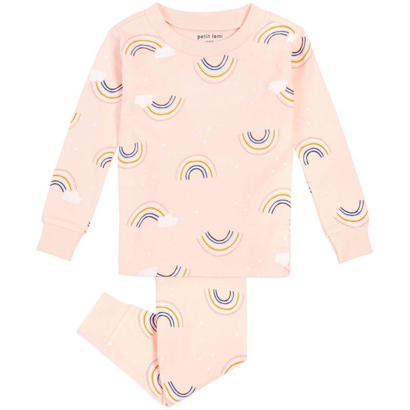 Rainbow 2 Pieces Pajama Set 12-24m
