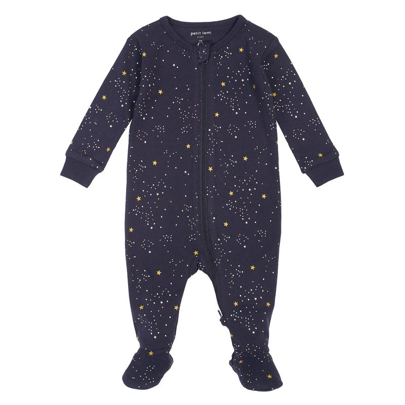 Rainbow pajamas 0-24m