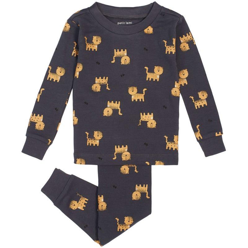 Tiger 2 Pieces Pajama Set 12-24m
