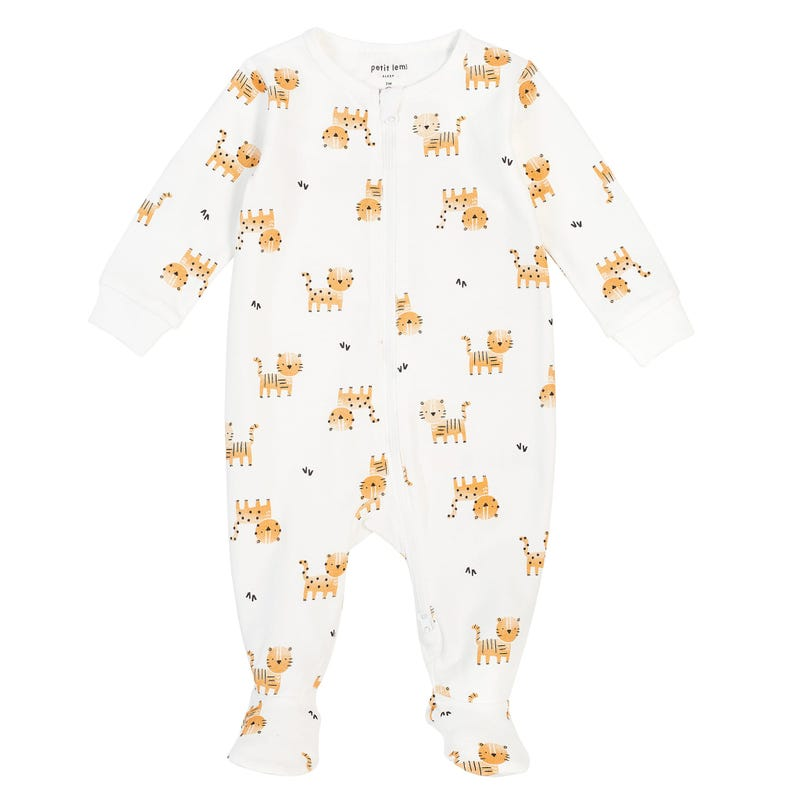 Pyjama Imprimé Tigre 0-24mois
