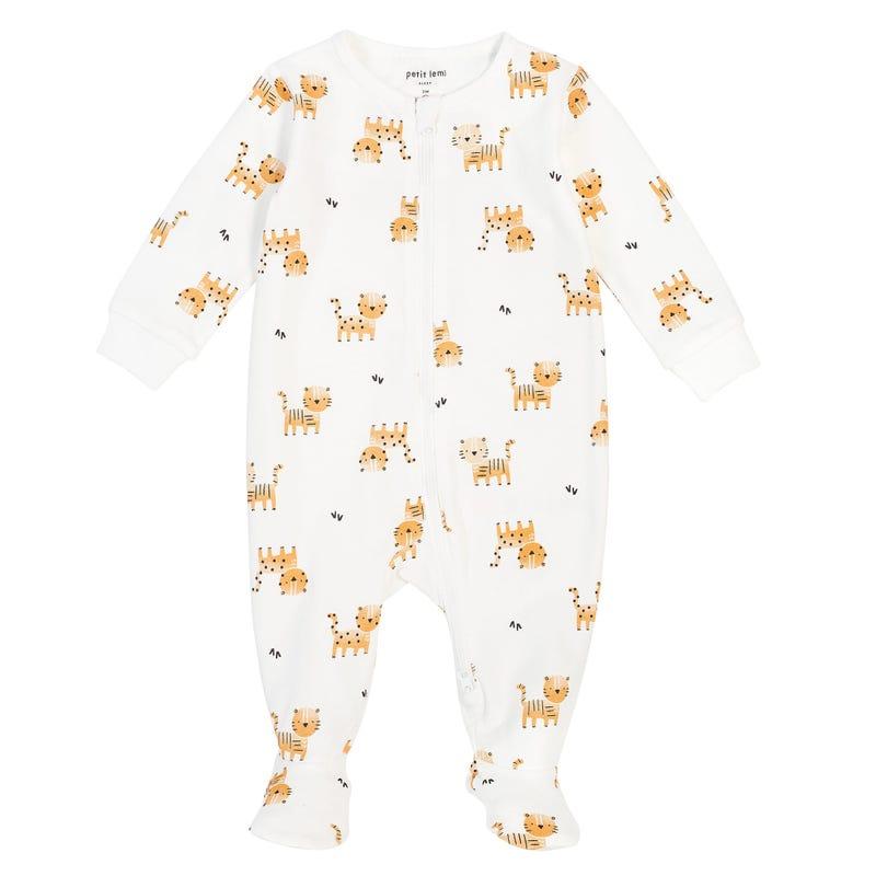Tiger printed Pajama Set 0-24m