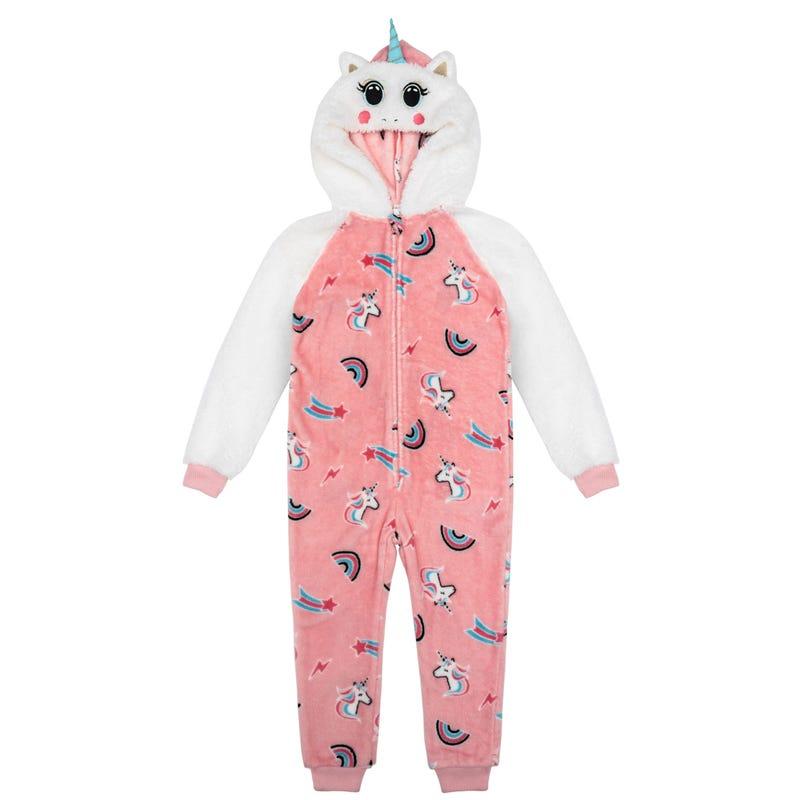 Unicorn 1pc Pajamas 4-14y