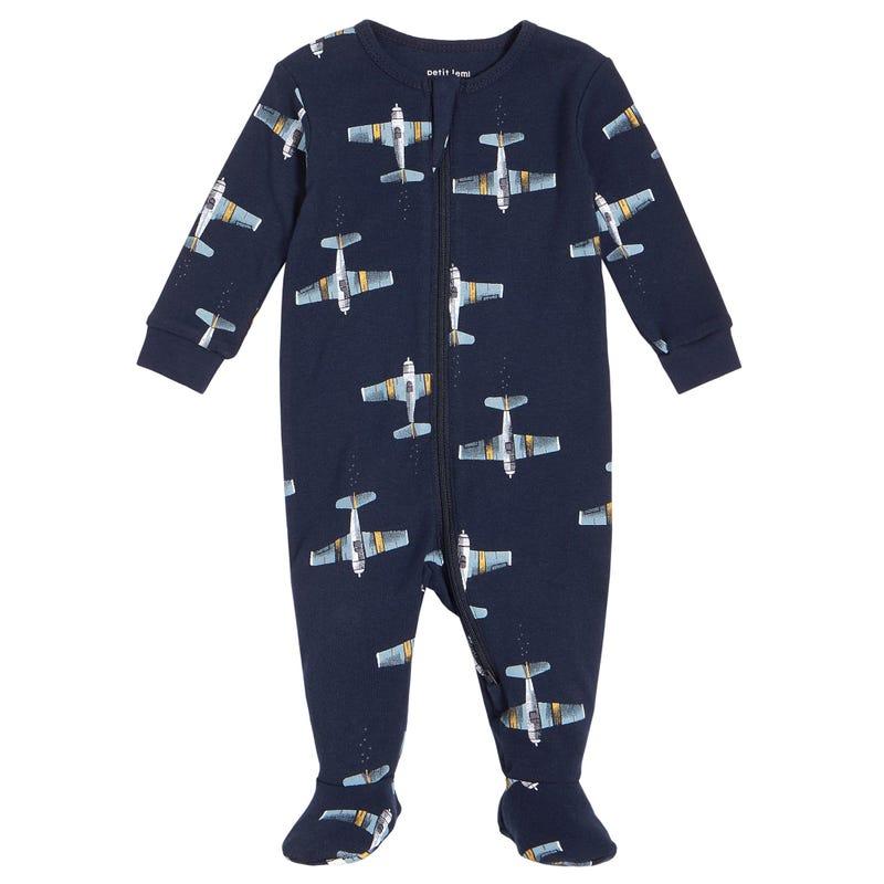Pyjama Avions 0-24mois
