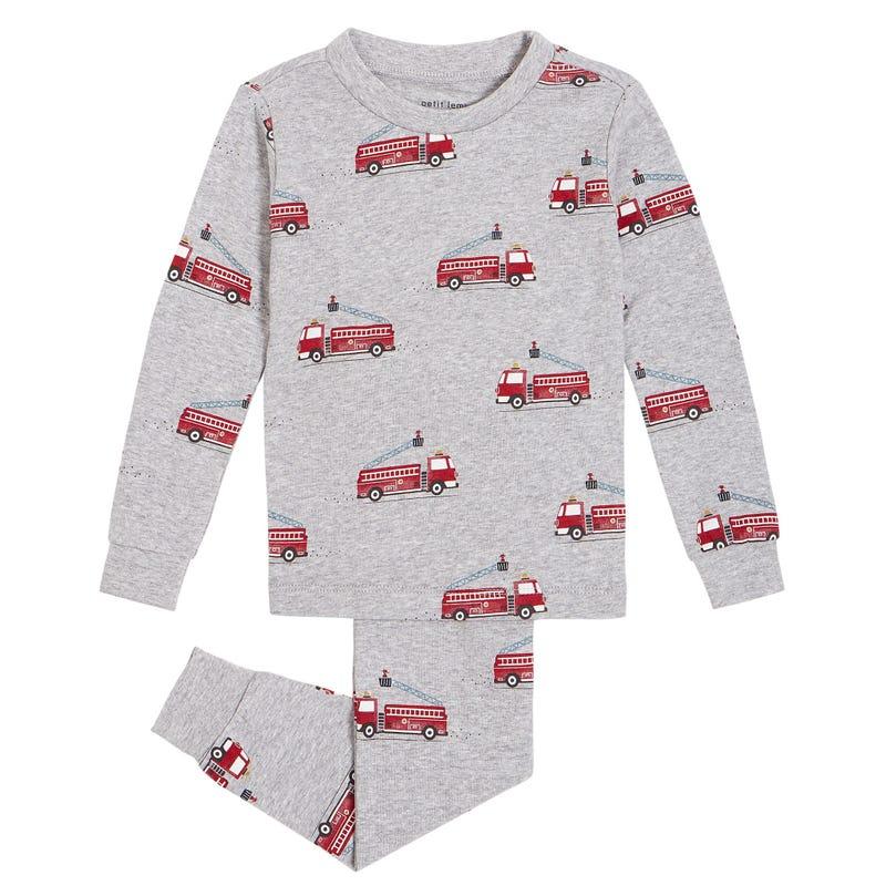 Firetrucks Pajamas 2-7y