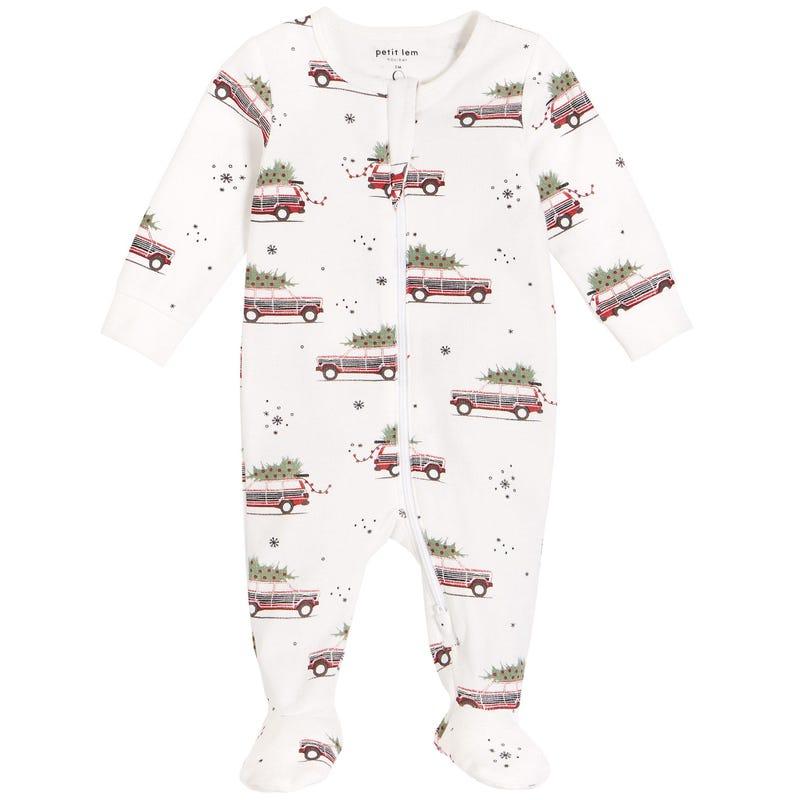 Car Pajamas 0-24m