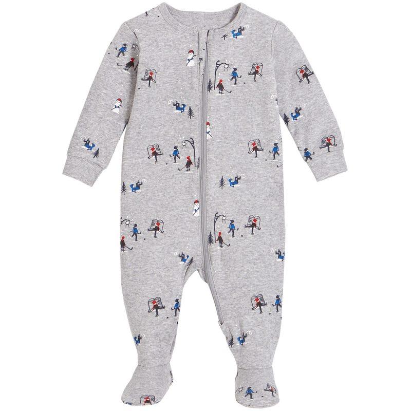 Hockey Pajamas 0-24m