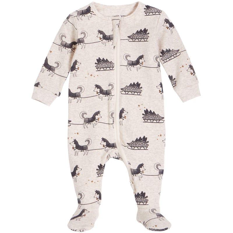 Pyjama Husky Traîneau 0-24mois