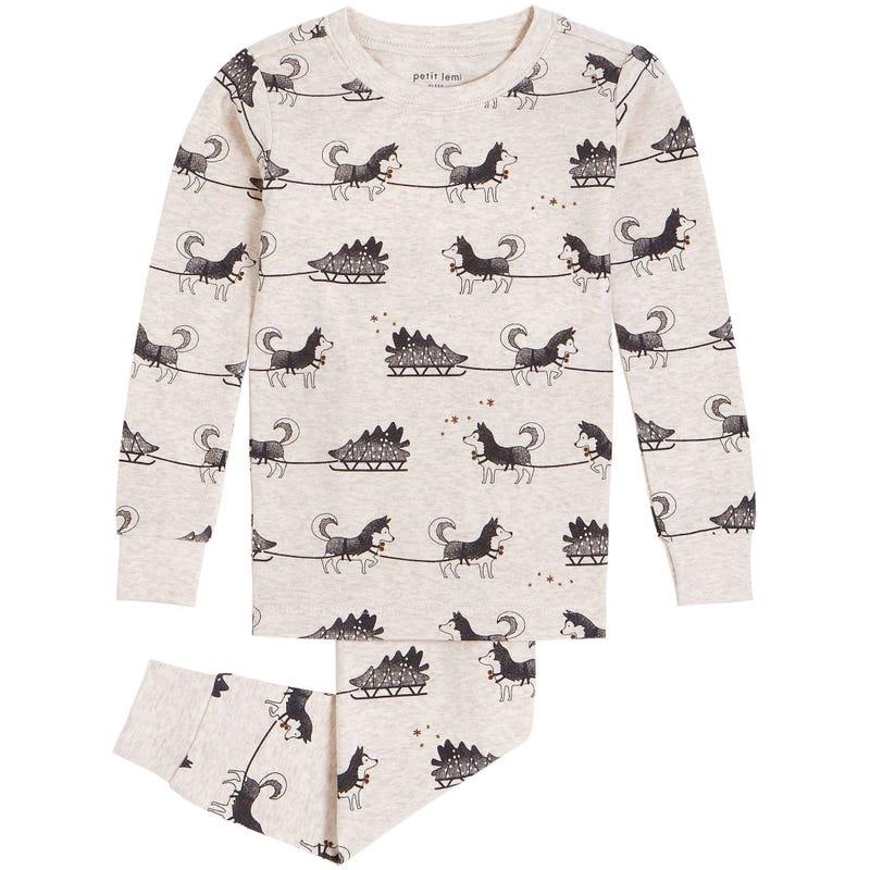 Pyjama Husky Traîneau 2-7ans