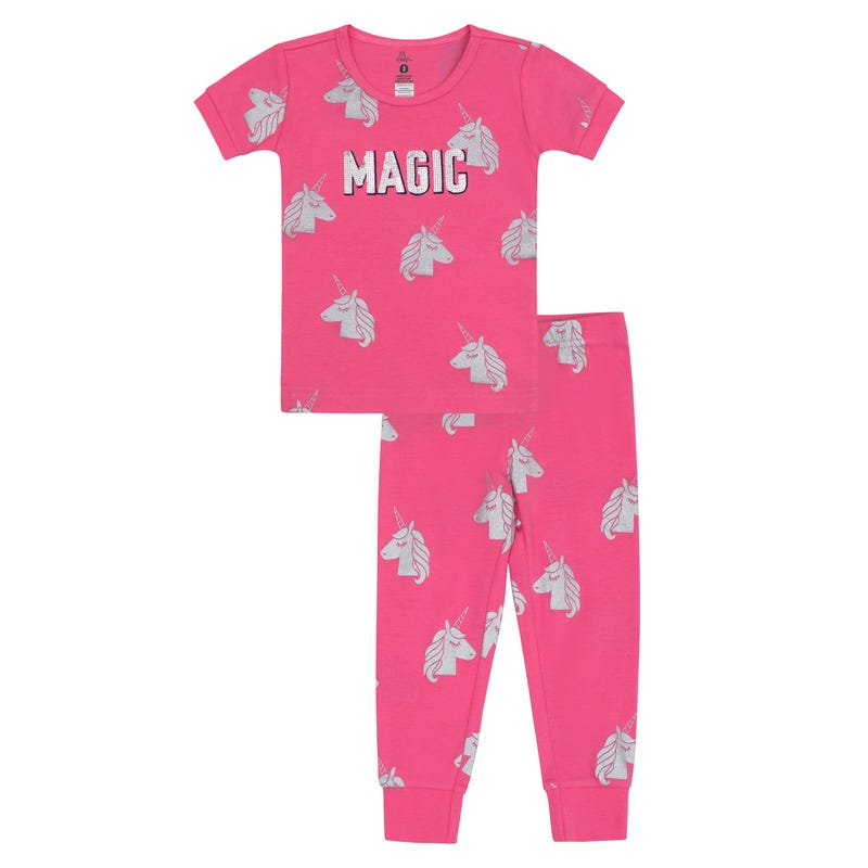 Unicorn Magic Long Pajamas 2-6