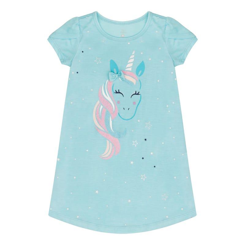 Unicorn Nightgown 2-14