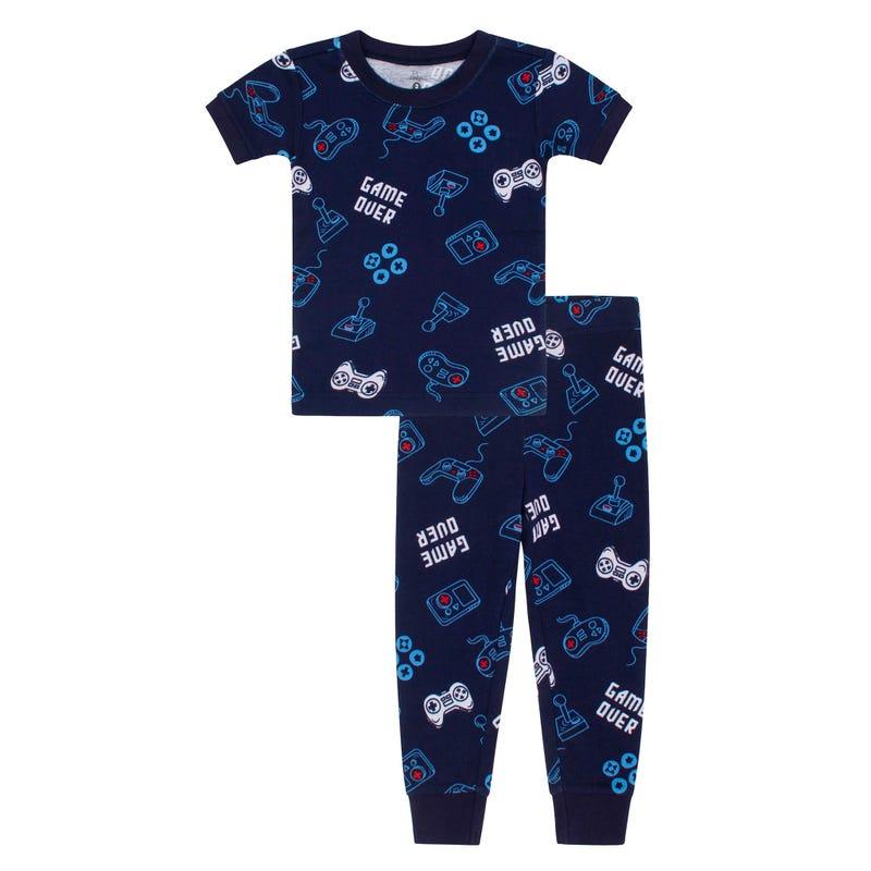 Gamer Long Pajamas 2-14