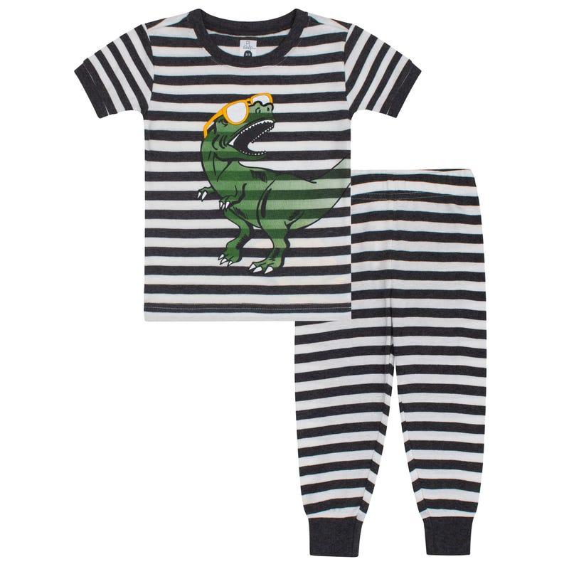 Dinosaurs Long Pajamas 2-7