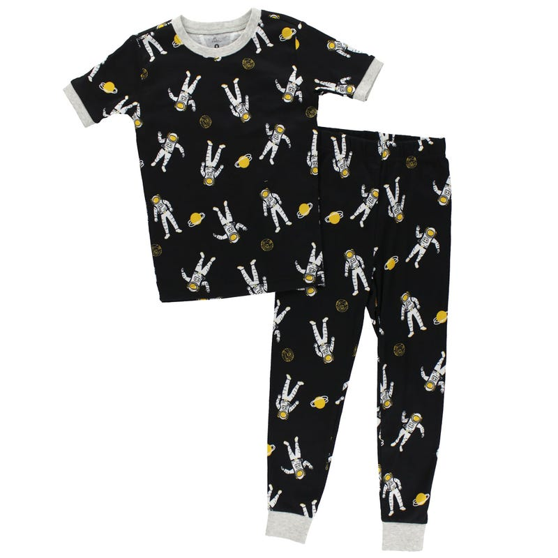 Space Long Pajamas 2-7y