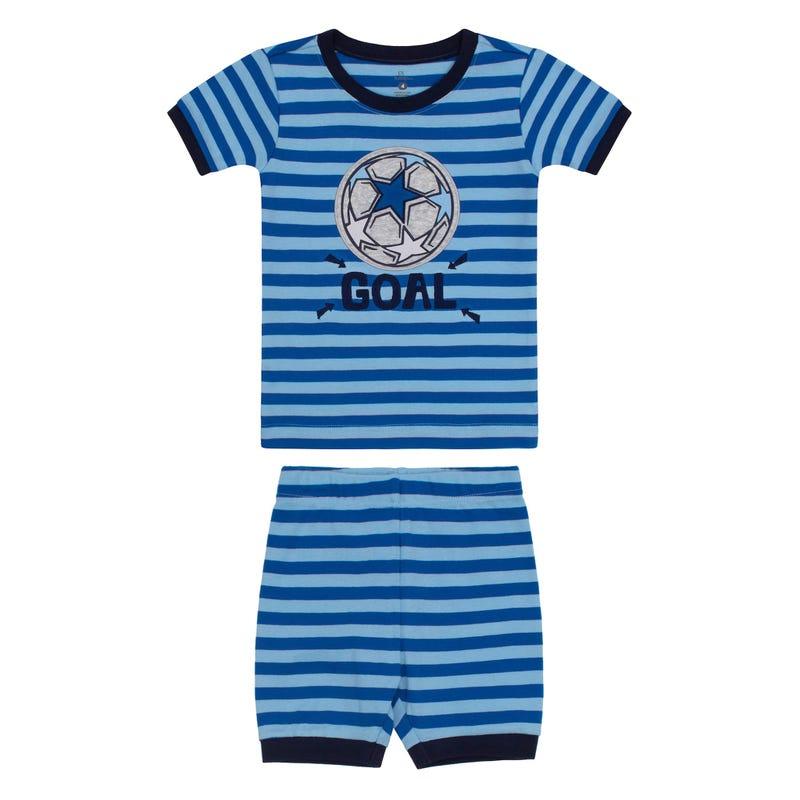 Soccer Short Pajamas 2-7y