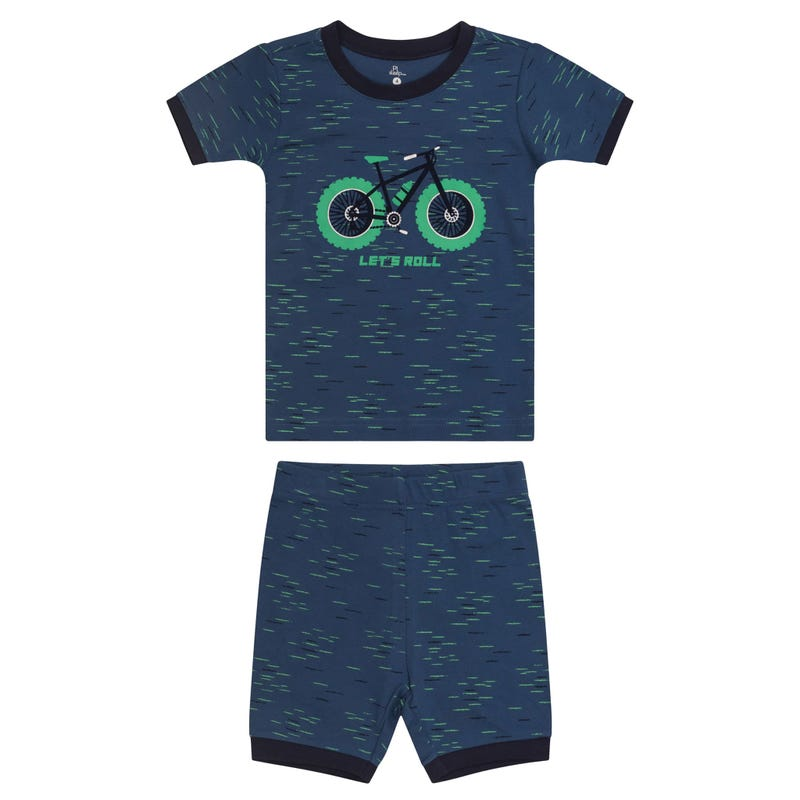 Bike Short Pajamas 2-14