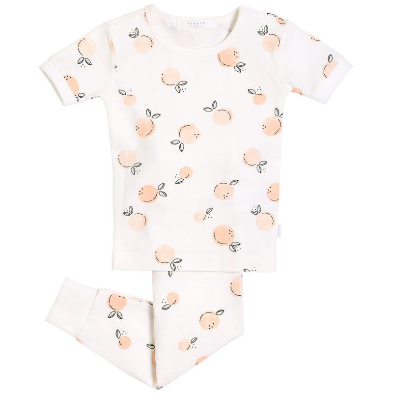 Pyjama 2 pièces Pêches 12-24m