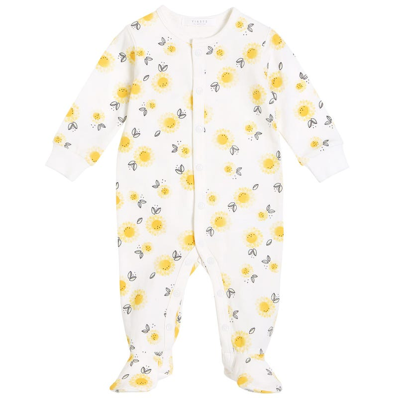 Sunflowers Pajamas 0-12m