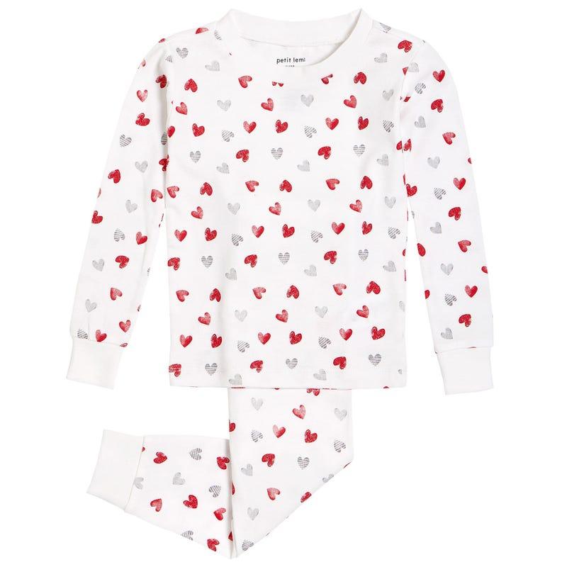 Pyjama Coeurs 2-7