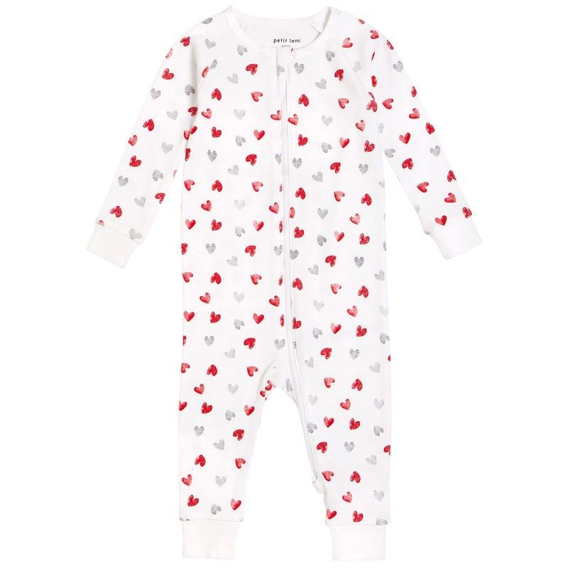 Pyjama Coeurs 12-24m