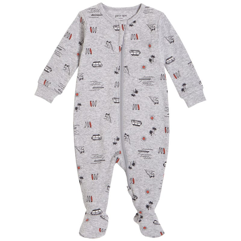 Surf Pajamas 0-9m