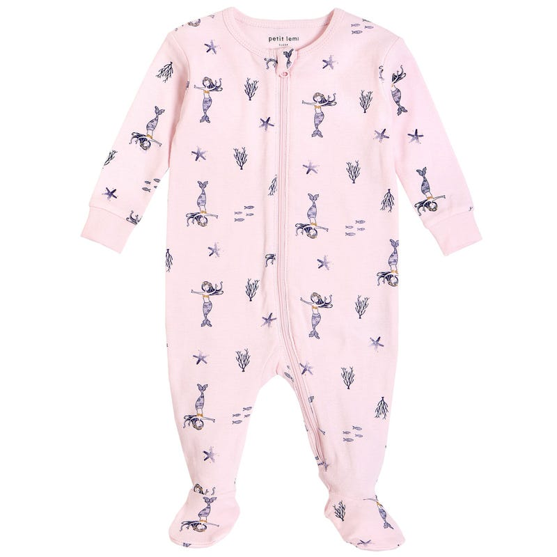 Mermaid Pajamas 0-9m