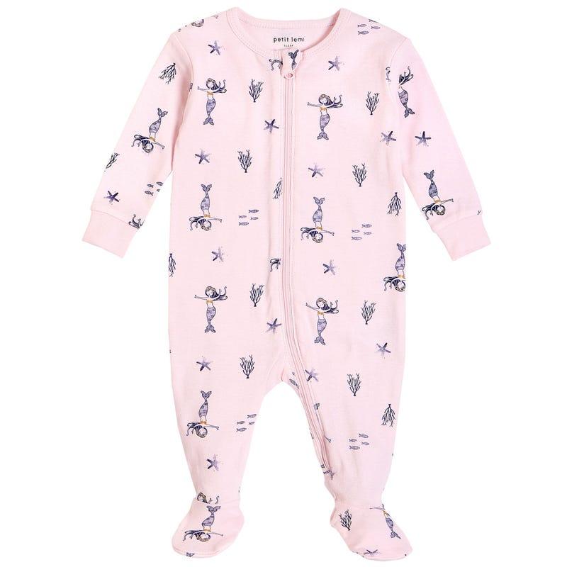 Mermaid Pajamas 0-9m