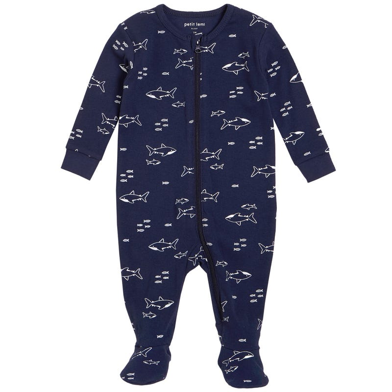 Sharks Pajamas 0-9m