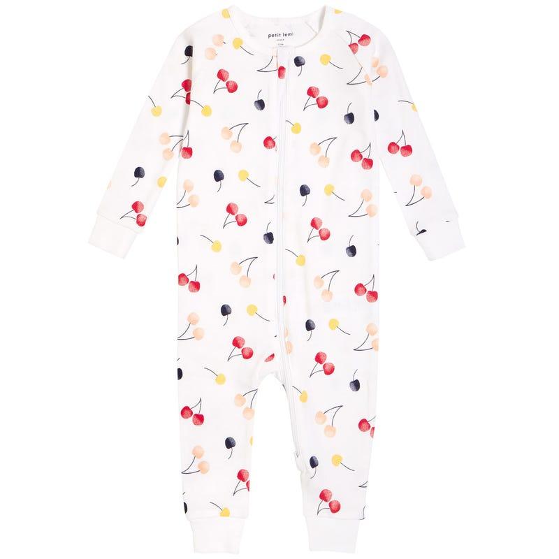 Cherries Pajamas 12-24m