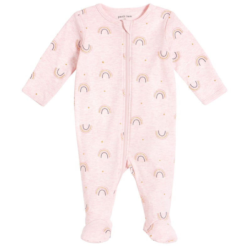 Pyjama Arc en ciel Nature Prématuré - 12 mois