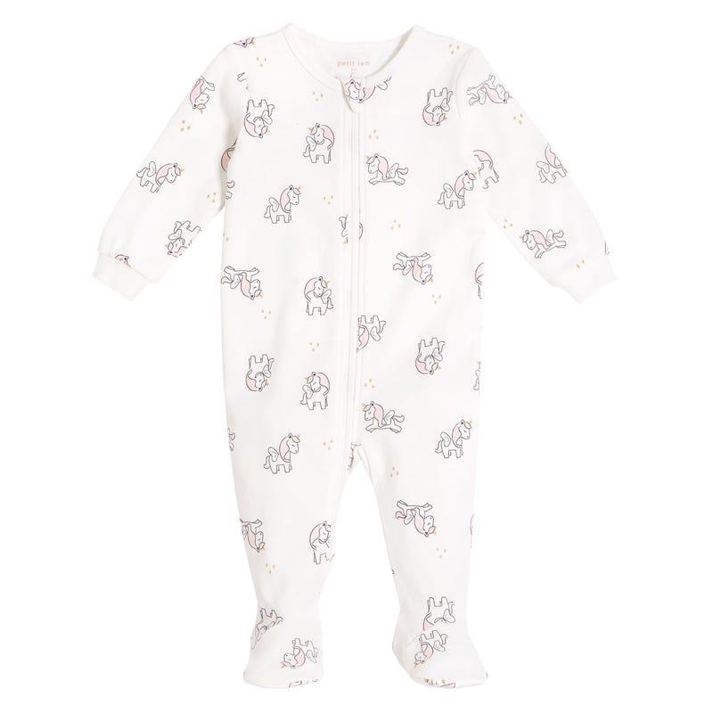Pyjama Licorne Nature 0-12mois