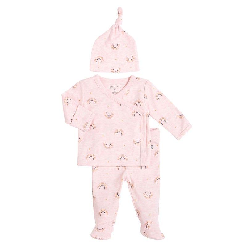 Pyjama 3 Pièces Nature 0-9mois