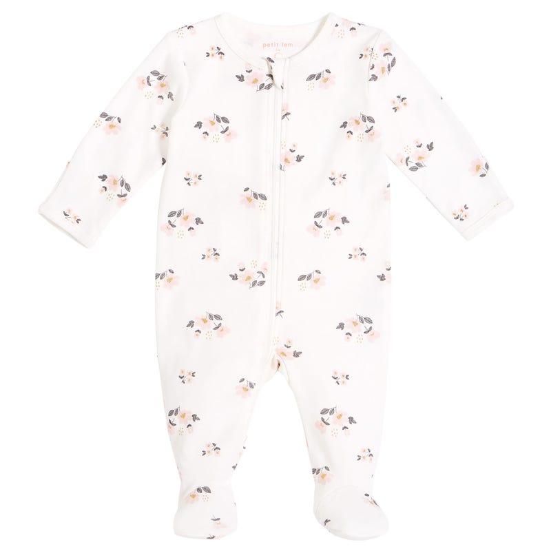 Pyjama Fleurs 0-12mois