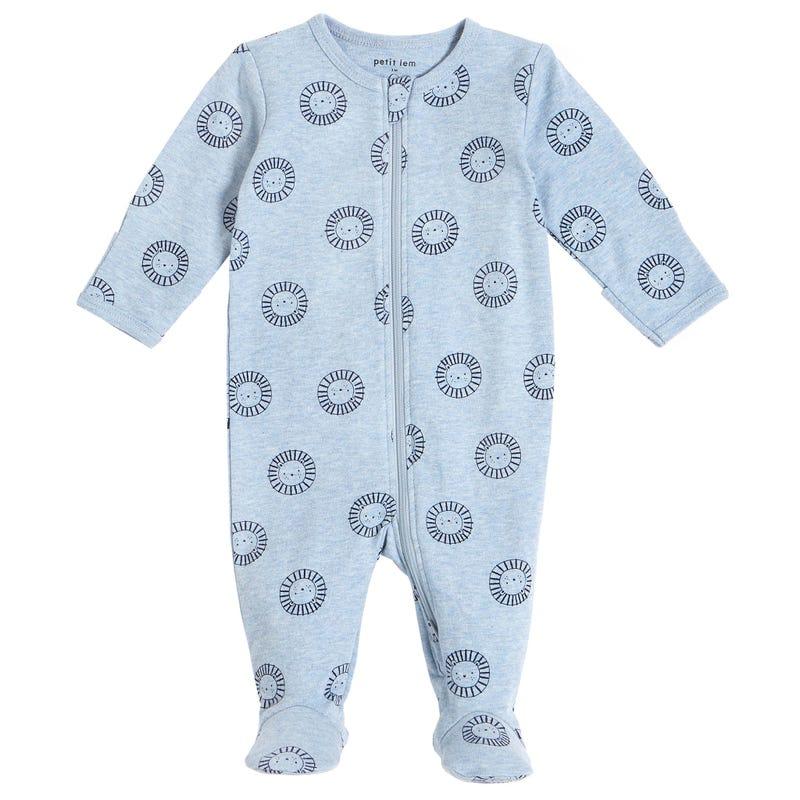 Lion Blue Pyjamas Premature-12m