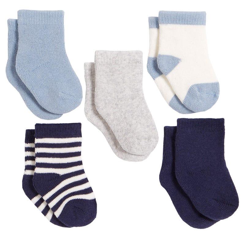 Lion 5-Pack Socks 0-6M