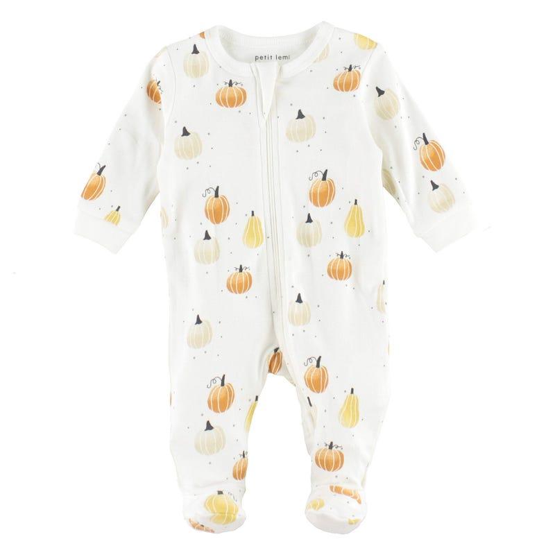 Pumpkins Pajamas 0-24m