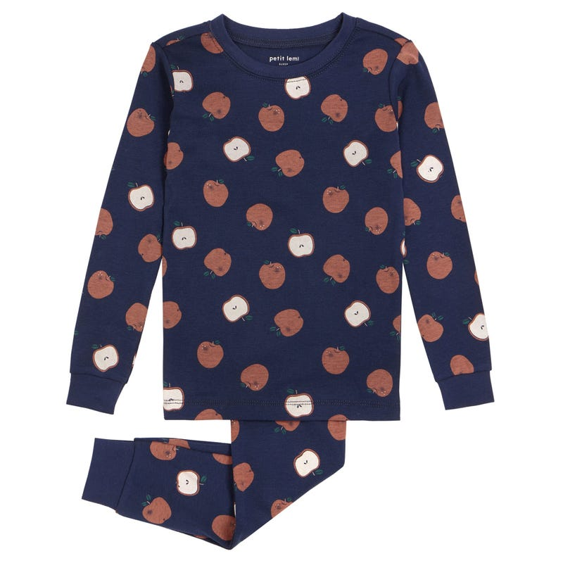 Apples Pajamas 2-7y