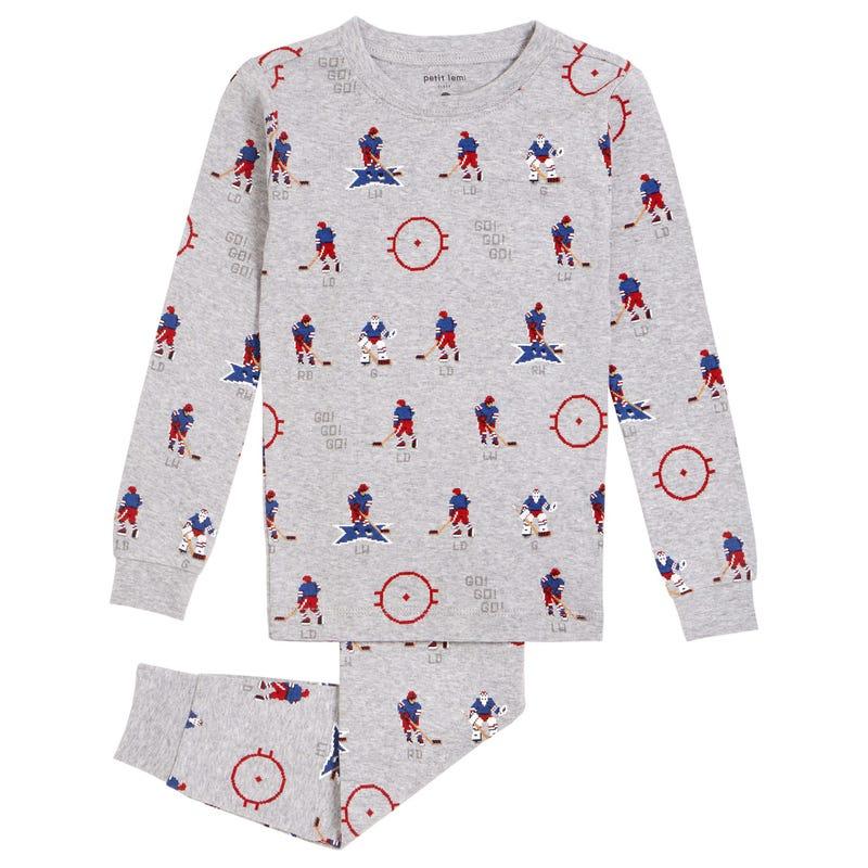Hockey Pajamas 2-8y