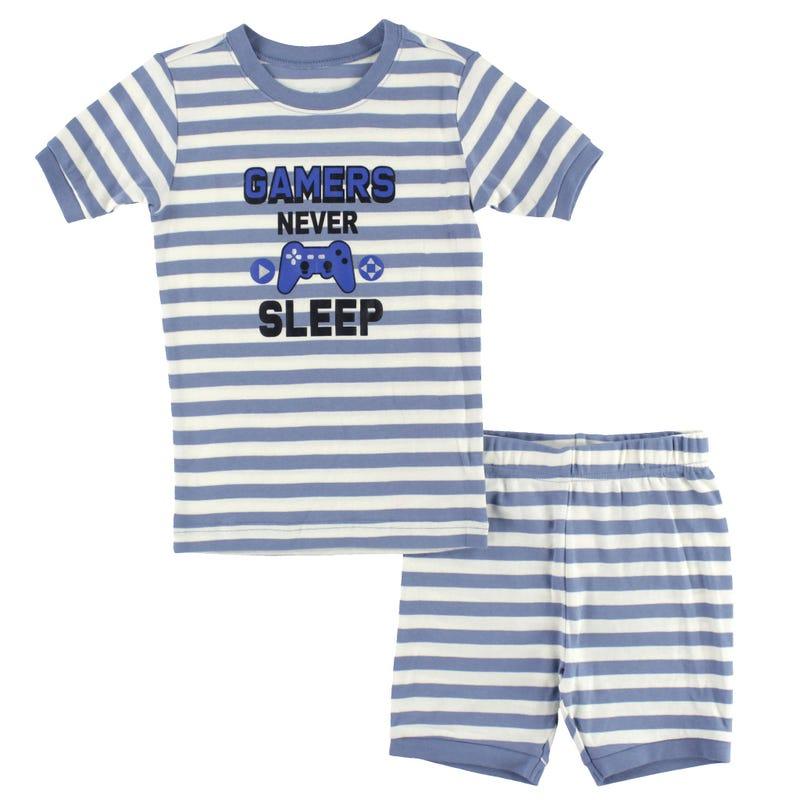 Pyjama Court Gamer 2-14ans