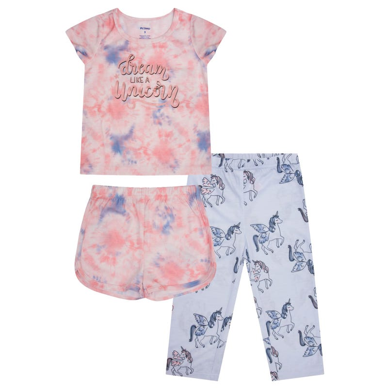 Pyjama 3 Pièces Licorne 2-14ans