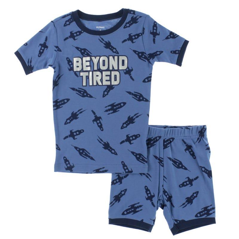 Pyjama Court Espace 2-14ans
