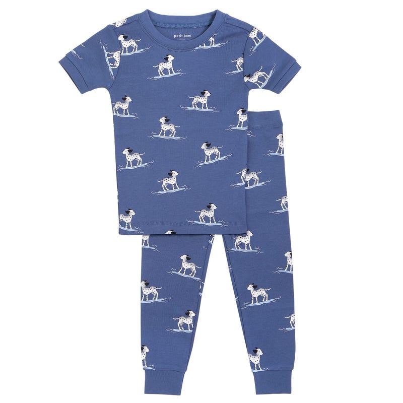 Dogs 2 Pieces Pajamas 2-7y