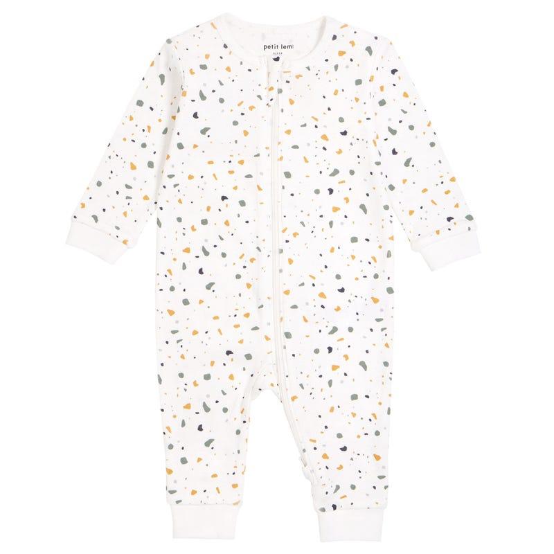 Pyjama Ivoire Terrazzo 0-24mois
