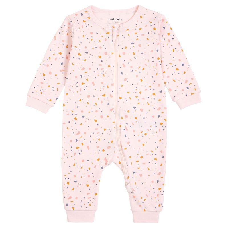 Pyjama Rose Terrazo 0-24mois