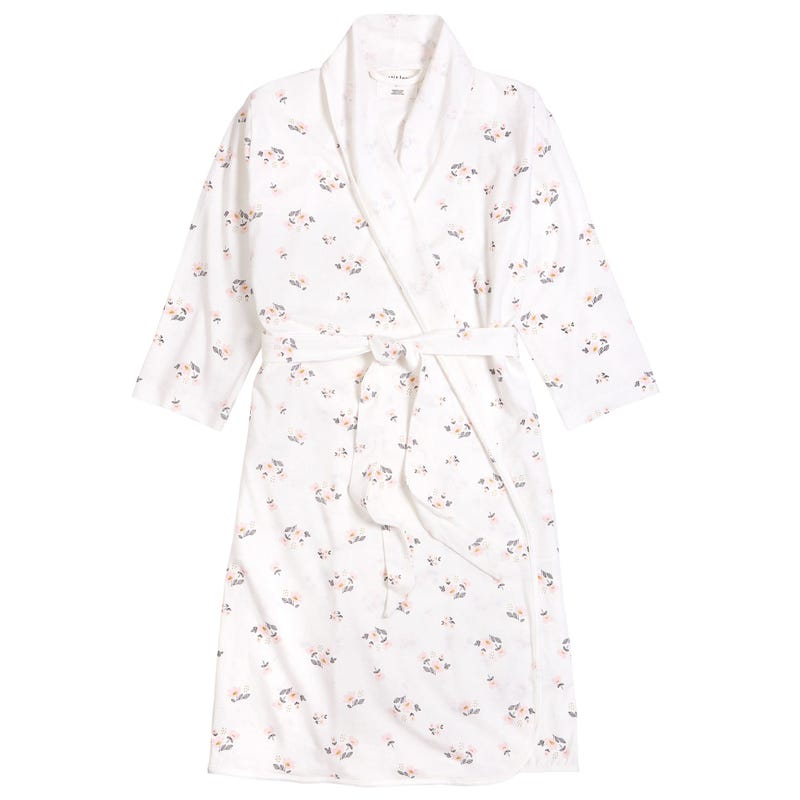 Adult Flowers Dressing Gown