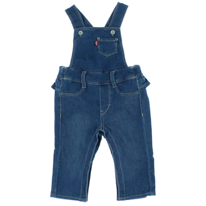 Ruffle Overall 12-24months