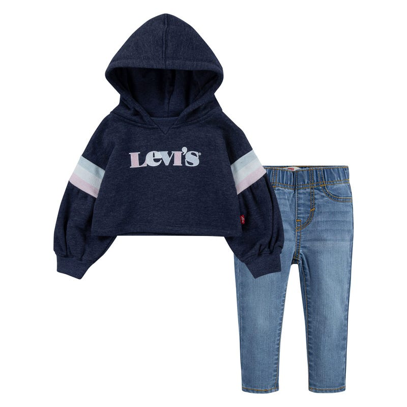 Hoodie+Jeans 2 Pieces Set 12-24m