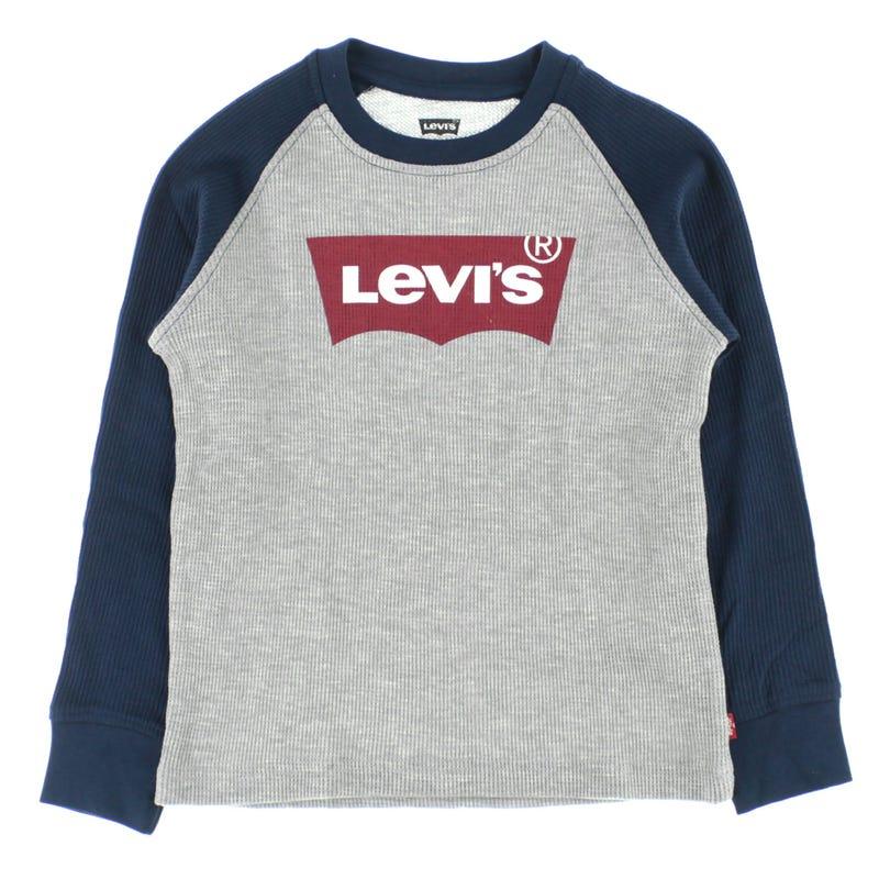 Raglan Levi's t-shirt 4-7y